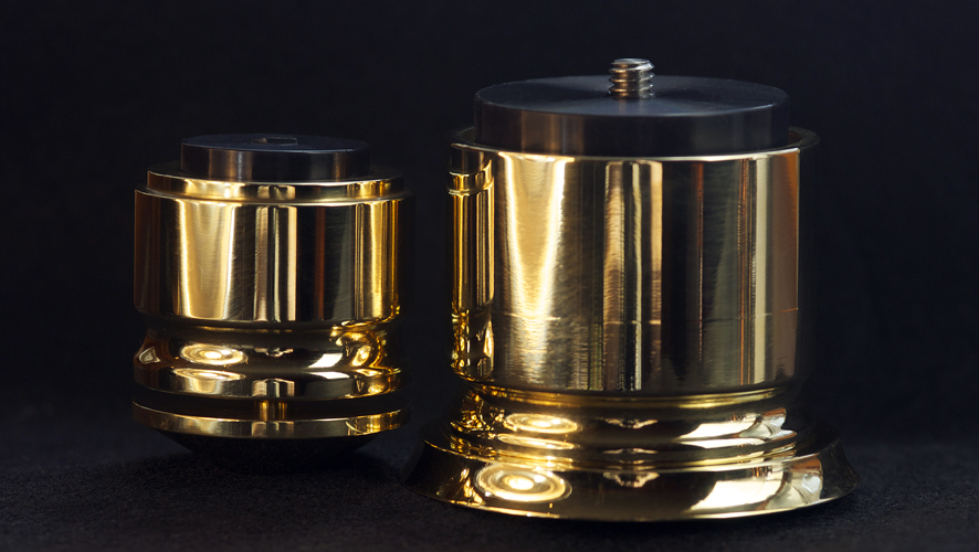 AmCan Brass Ignite Isolation Footers