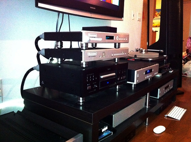 Bryston Preamplifier, BDP-1, and Esoteric DV-50