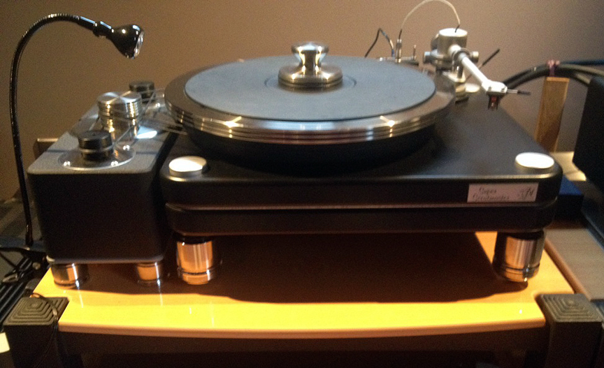 VPI ScoutMaster w/ AmCan Lg. 303 Stainless Steel Footers